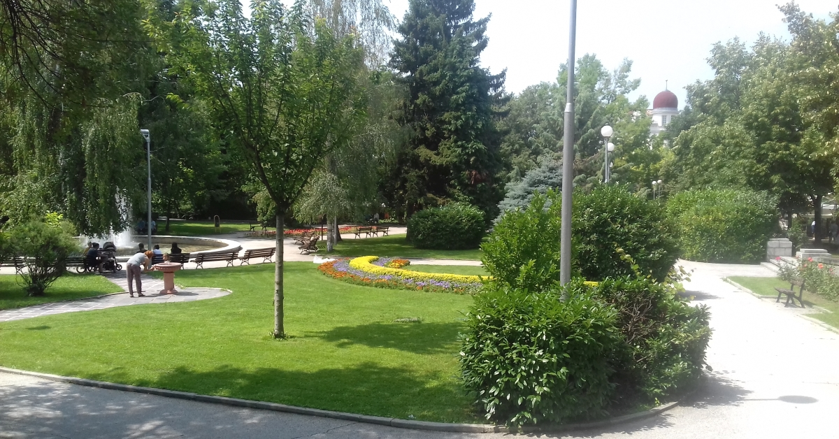 Park in Starosel, Bulgaria