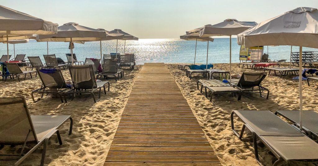 Black sea resort