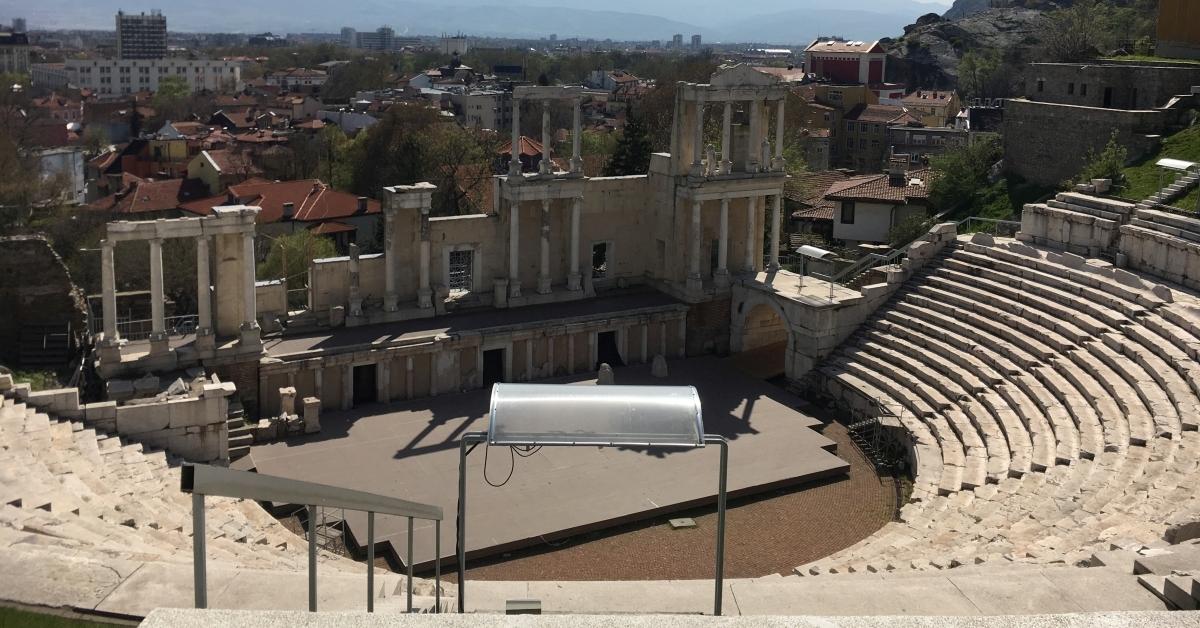 Roman Theatre in Plovdiv