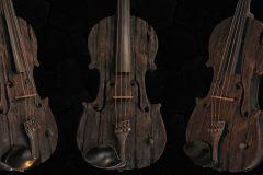 Violin made in Bulgaria