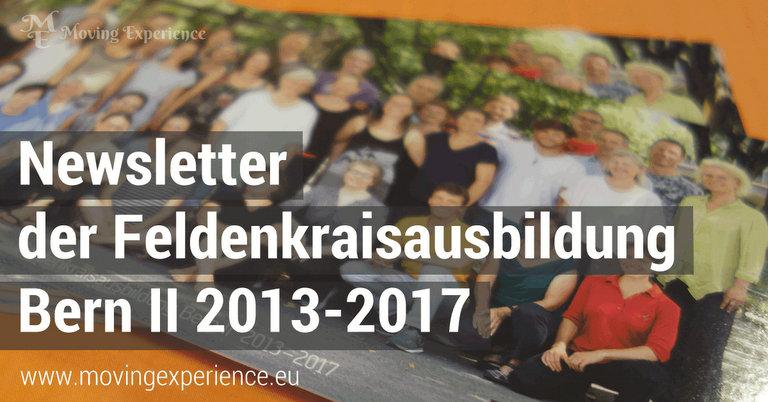 Der Newsletter der Feldenkrais Ausbildung Bern II