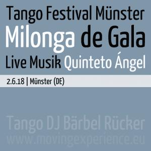 Tango DJ Bärbel Rücker @ Tango Festival Münster