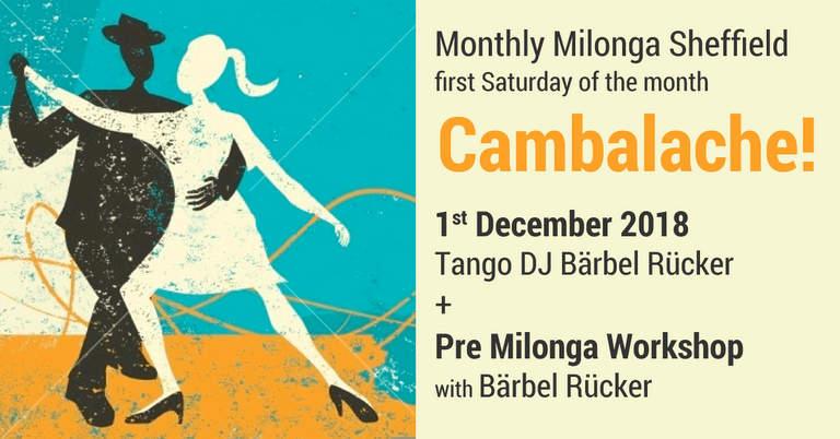Milonga Cambalache with Tango DJ Bärbel Rücker