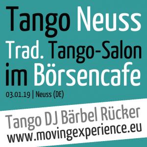 Tango DJ Bärbel im Börsencafe