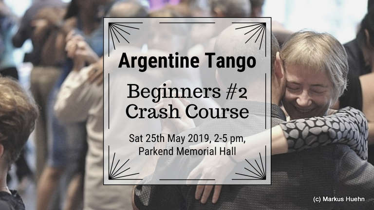 Argentine Tango Beginners Crash Courses