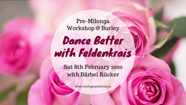 Dance better with Feldenkrais at Burley