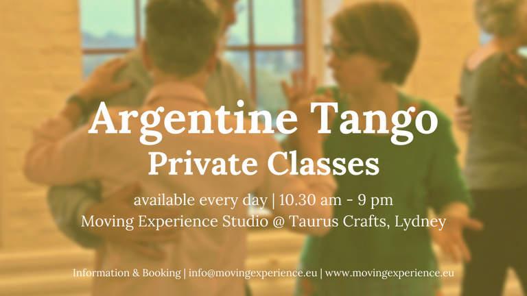 Private Tango classes with Bärbel Rücker