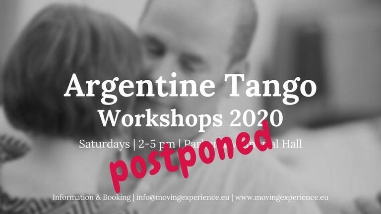 Postponed - Tango Workshops
