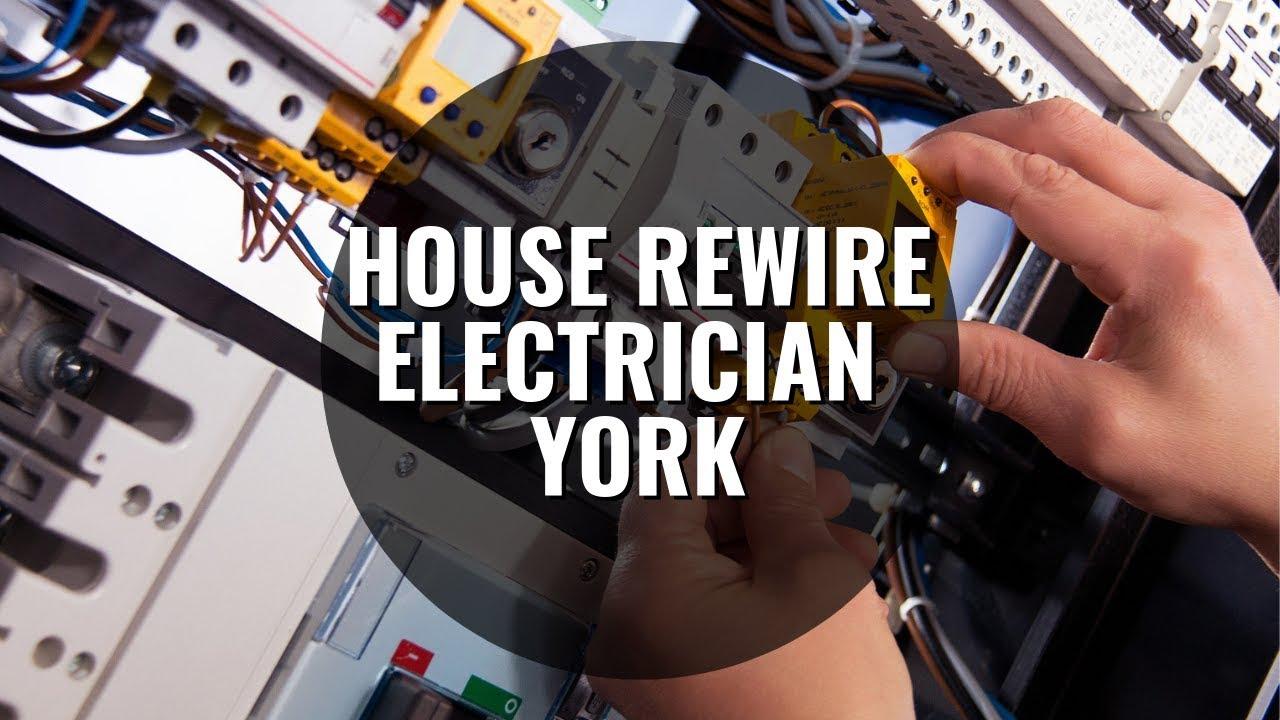 house rewire electrician York MPS Ltd 0800 7797472