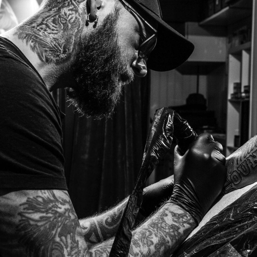 Geir Henning tattoo