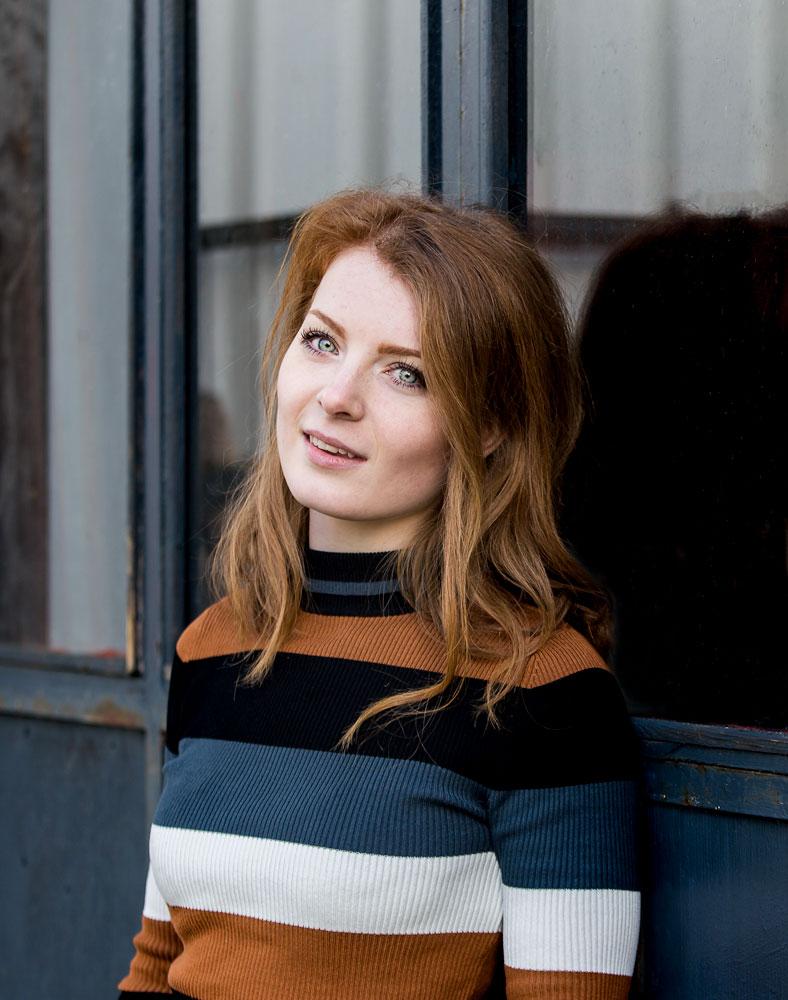 Maja Rohde Sværke, webdesigner, social mediekonsulent og fotograf