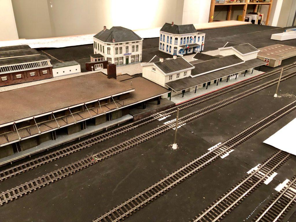 De Bergen op Zoom modelbaan het Spirituslijntje