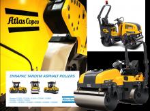 Atlas Copco Rollers