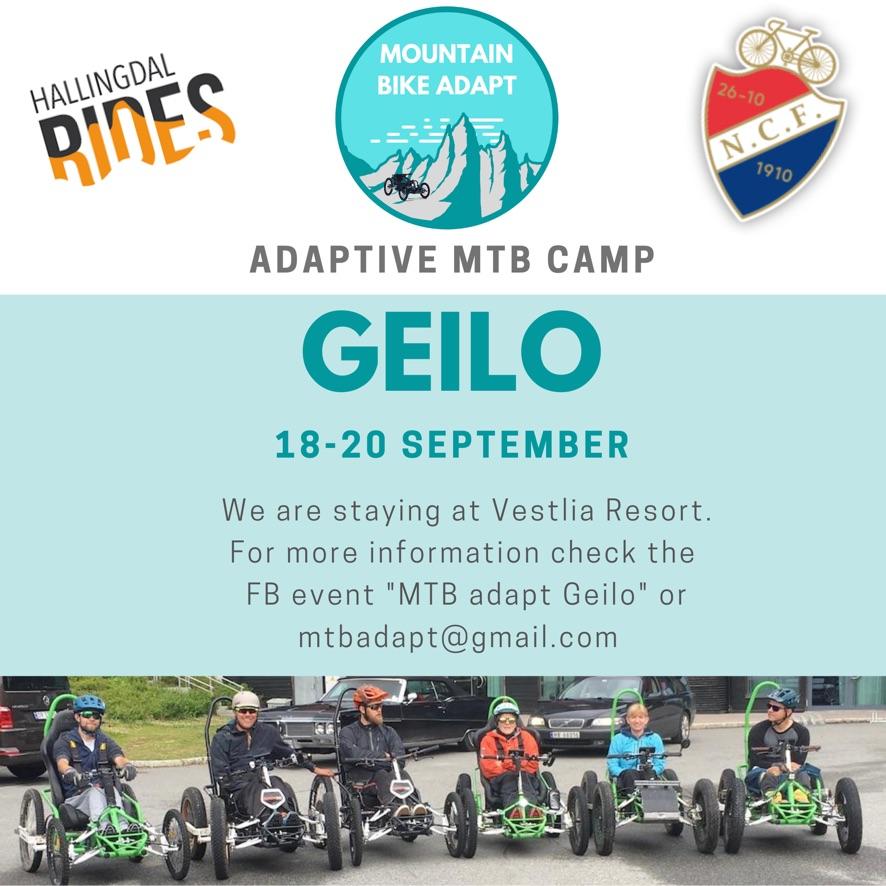 adaptive mtb camp geilo