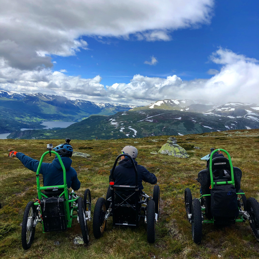 Slettefjell adaptive mtb
