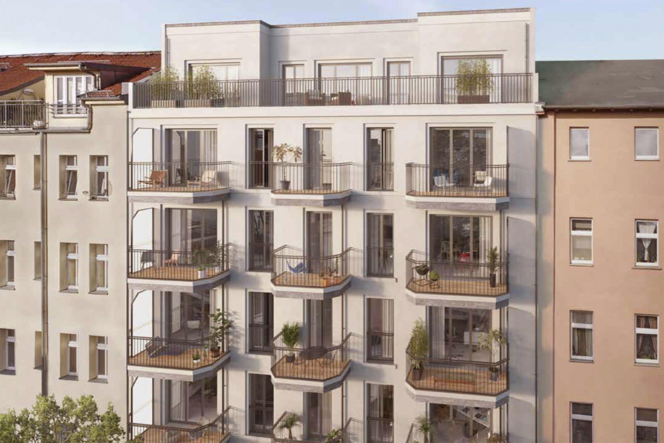 Neubau 12 Wohnungen
