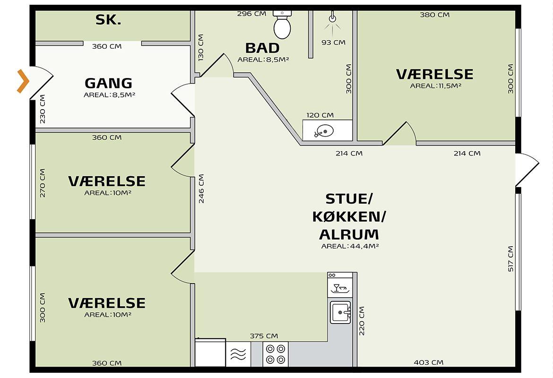 indretningsplan græsgangen 106Hv2