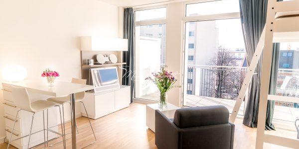 Teilmöbliertes Apartment in München Bogenhausen