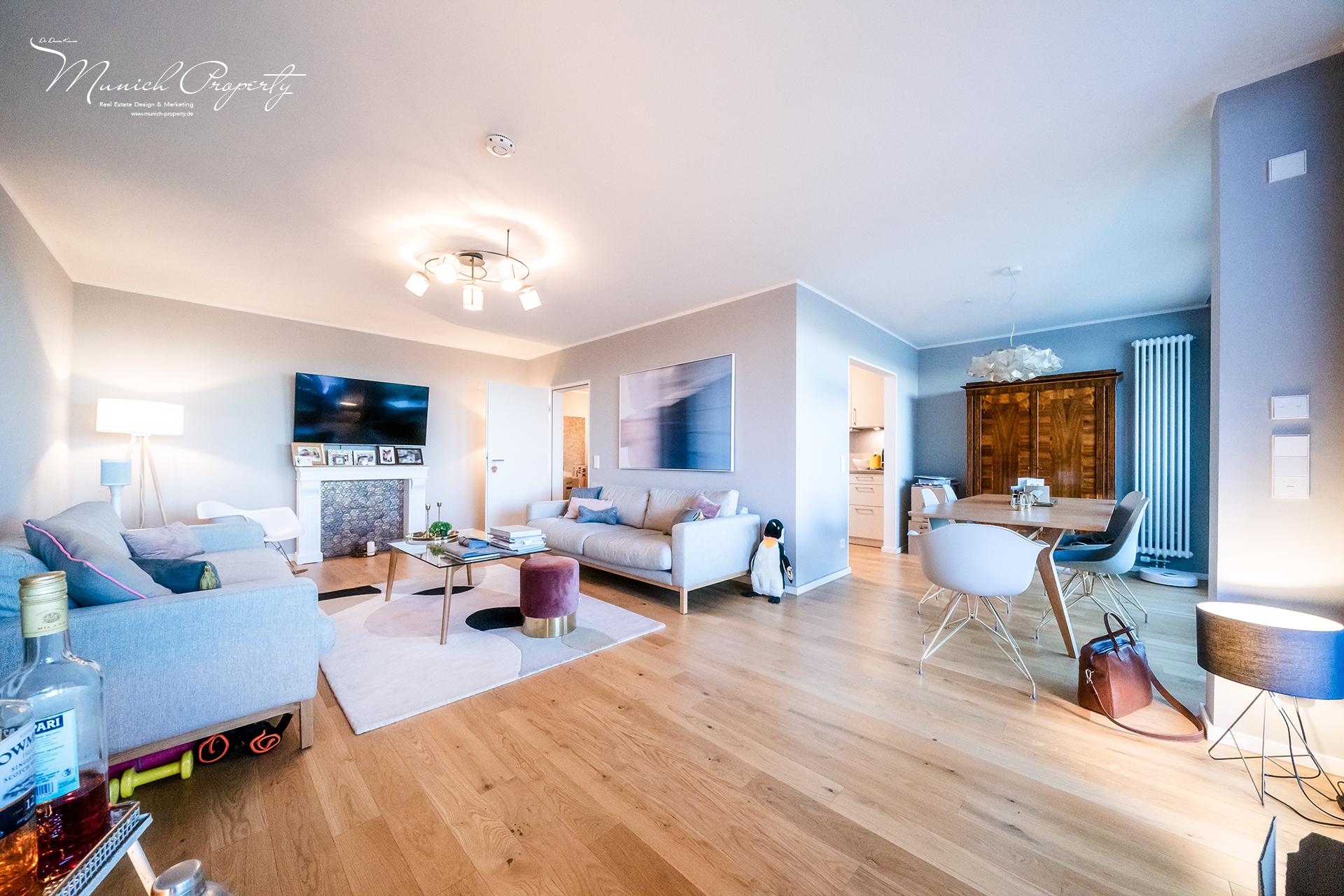 Außergewöhnlich schöne 4 Zimmer Wohnung mit 3 Süd-Balkonen ...