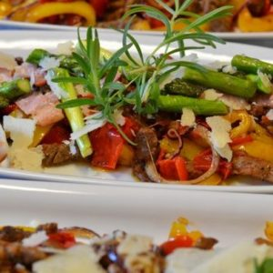 biffsalat asparges,bacon.JPG