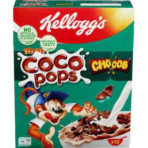 COCO POPS CHRUNCHER 375G KELLOGGS