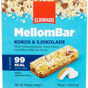 MELLOMBAR KOKOS&SJOKOLADE 138G ELDORADO