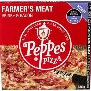 PEPPES PIZZA M/SKINKE 525G