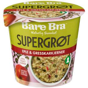 SUPERGRØT EPLE&GRESSKARKJ 53G BARE BRA