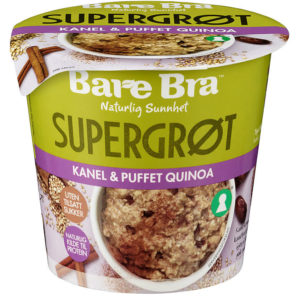 SUPERGRØT KANEL&PUFFET QUINOA 54G