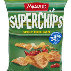 SUPERCHIPS SPICY MEXICAN 140G MAARUD