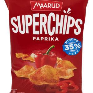 SUPERCHIPS PAPRIKA 140G MAARUD