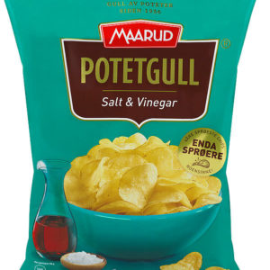 POTETGULL SALT&VINEGAR 200G MAARUD