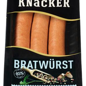 KNACKER BRATWURST 250G FINSBRÅTEN