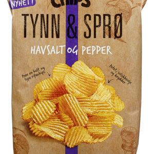 TYNN&SPRØ RIFFLA HAVSALT&PEPPER 150G