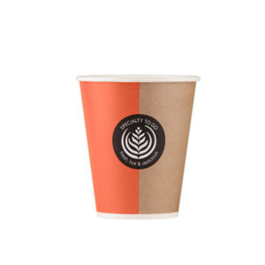 KAFFEBEGER 30CL 75STK COFFEE TO GO