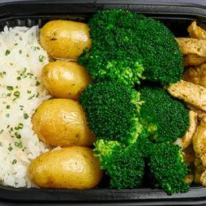 Kylling,brokkoli,potet,ris