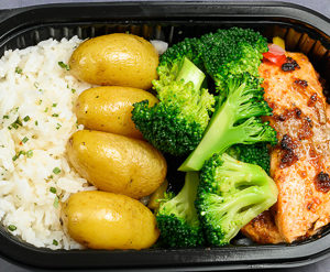 Laks,brokkoli,potet,ris