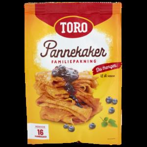 TILBUD: Pannekaker familiepakning 522g TORO