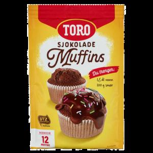 Toro sjokolade muffins mix 338g