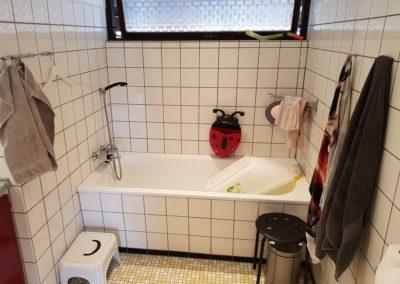 Badeværelse før og efter