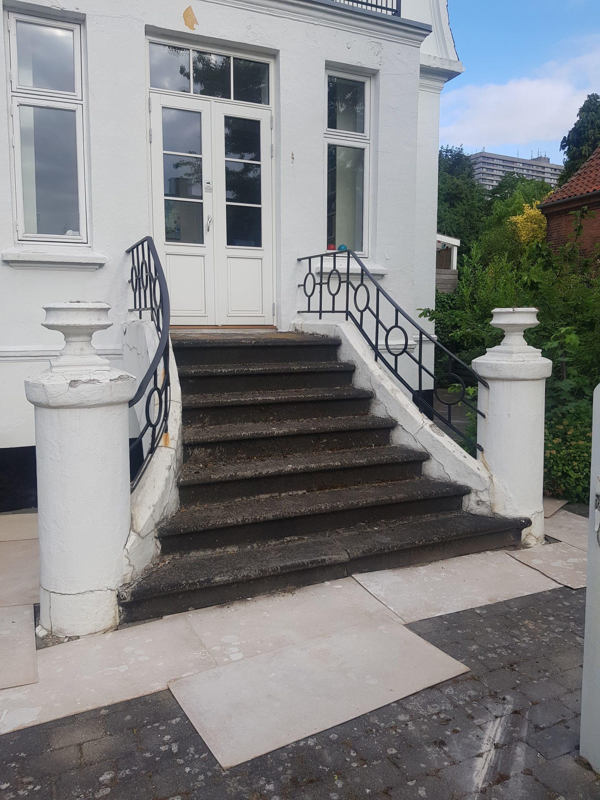 Renovering af ældre trappe