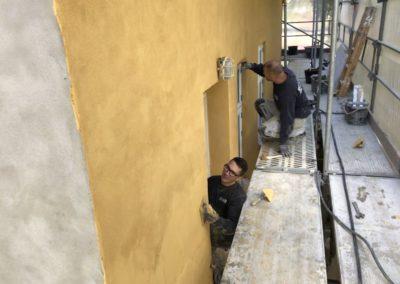 Netpuds og filsning i skagensgul farve 2 famile bolig