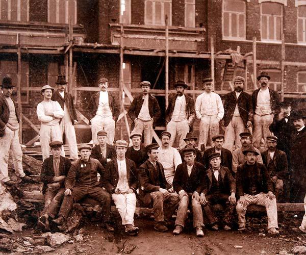 Historiske bilder fra Stavanger & Sandnes murmesterforening