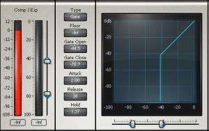 Waves Noise Gate-Plugin