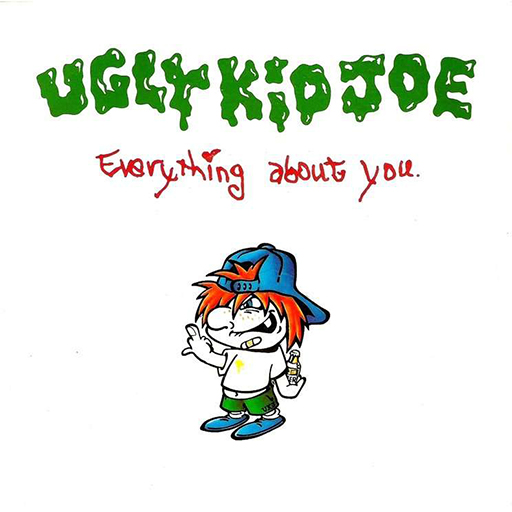 ugly kid joe everything about you single cover front 1