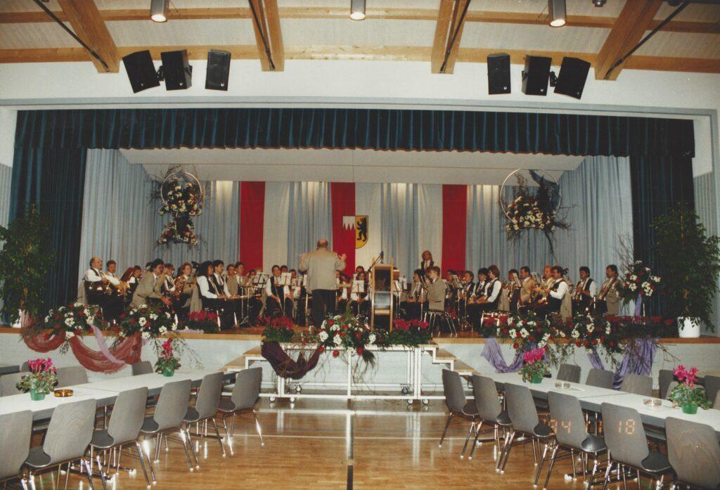 1994 1. Konzert in der Graf Gerold Halle (Einspielen)