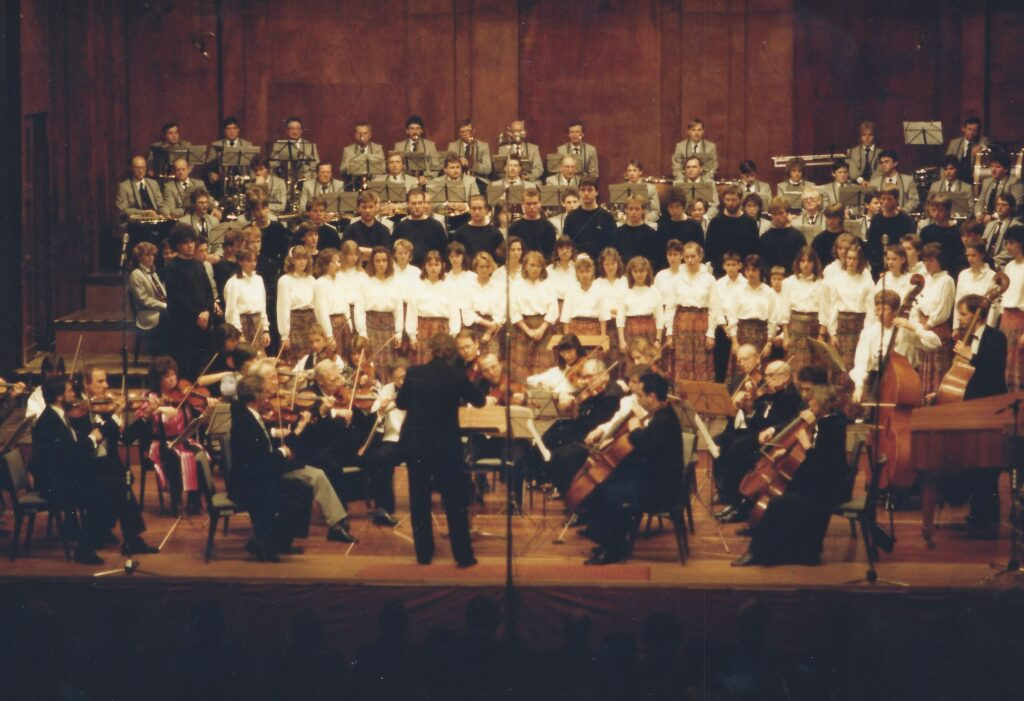 1988 Verleihung der Pro Musica Plakette in Baden-Baden