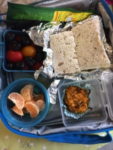 dairy free lunchbox