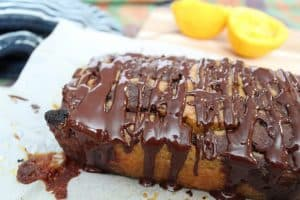 dairy free chocolate orange cake