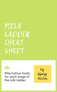 milk ladder alternative foods